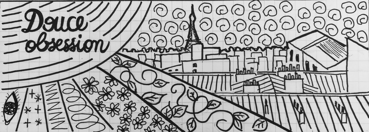 Douce obsession illustration aurelie mojo
