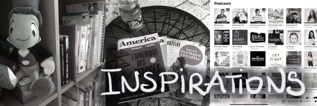 Inspiratiions Livre Podcast video magazine film bibliographie biographie artistes ecrivains