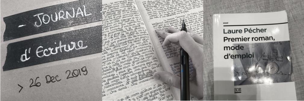 Journal ecriture roman processus creatif